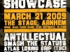 2009-03-21 | Shield Recordings Showcase @ The Stage, Arnhem (NL)