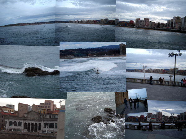 The haven in Gijon...