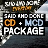 Said And Done CD package