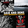 Said And Done – discography VINYL package